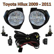 Front bumper Fog Light lamp kit for Toyota Hilux MK6 2009-2011 Vigo Pickup spot