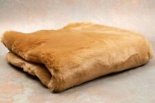 "High Quality Teddy Bear Fabric Acrylic Brown 18x28"" Straight Dense 50001085"
