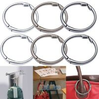 2 Multi Purpose Alloy Bag Hanger Collection Round Clip Hangbag Table Hanger 15kg