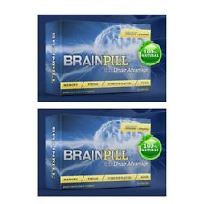 BRAIN PILL Focus Supplement BOOST Memory Cognizin Synapse factor-2 Month Supply