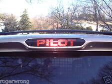 Honda Pilot 3rd brake light decal overlay 2003 2004 2005 2006 2007 2008