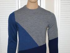 Armani Exchange Authentic Colorblock Crewneck Sweater NWT