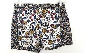 Unbranded CARTONNIER Women's Mixed Floral Print Sailor Style Shorts US4/AUS 8