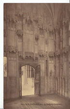 Cambridgeshire Postcard - Ely Cathedral - Bishop's Chapel    ZZ2736