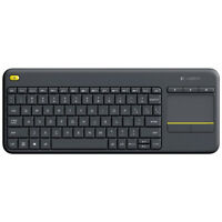 Logitech K400 Plus Wireless Touch Keyboard with Touchpad for PC connected TVs