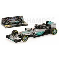 MINICHAMPS 417 150044 & 150444 MERCEDES AMG W06 model F1 car Hamilton 2015 1:43