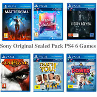 PS4 Games Bundle Of Six Original Sony PS4 Console Games For Sony Playstation IV