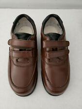 Mens Diabetic Therapeutic Sz 8.5 2W Brown  Pre owned