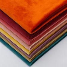 Thick Solid Matt Holland Velvet Backdrop Software Sofa Pillow Upholstery Fabirc