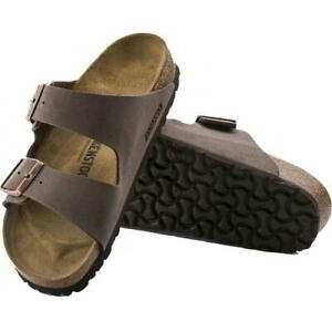Birkenstock Arizona Regular Fit Mens Womens Mocca Brown Sandals Size 4.5-13