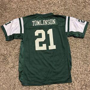 Reebok NFL Football New York Jets LaDainian Tomlinson Jersey Youth Size XL