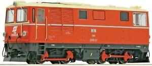 Roco 33304, HOe gauge,Diesel locomotive 2095.07, ÖBB crimson