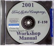 2001 Ford F150 Pickup Factory Service Manual Shop Repair CD