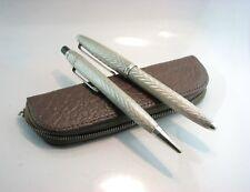 Collectable  BARCLAY / CENTROPEN /  SET  Silver Czechoslovakian Pen,pencil..1950