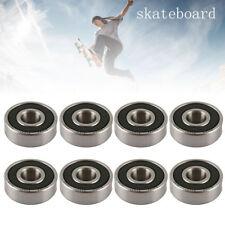 8PCS ABEC 11 High Performance Skate Scooter Skateboard Wheel Bearings 608RS