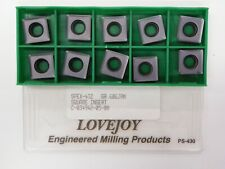CARBIDE INSERTS 10PCS LOVEJOY SPE533 GRD M MAN126-10