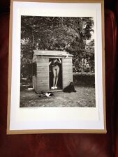 Helmut Newton - Poster Affiche Photo - Domestic Nude VII Los Angeles Playhouse