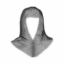 Chainmail Coif Medieval Knight Renaissance Armor Chain Mail Hood Viking Larp