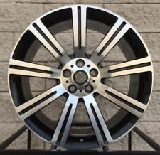 "22"" Range Rover Stormer Style Wheels Tires Black Machine Rims Sport Supercharged"