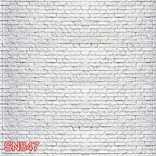 Brick 10'x10' Computer/Digital Vinyl Scenic Photo Background Backdrop SN847B881