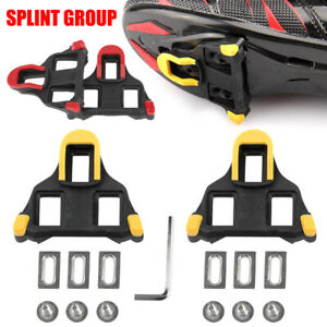 2PCS Road Bike Cycling Pedal Clasp Cleats Set 0/4.5/9° Float for Shimano SPD-SL