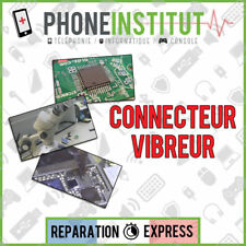 Reparation carte mere iphone 3G connecteur vibreur