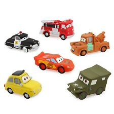 Disney Cars 3 Squeeze Toy Lightning McQueen Tow Mater Red Sarge Sheriff Luigi