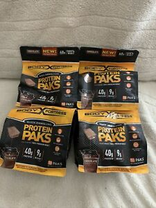 Body Fortress Whey Protein Packs 18 Grams Exp 07/20-09/20 Lot Of Four