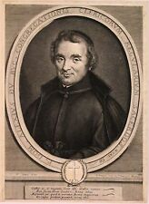 Portrait du frère Alexus par Trouvain d'après Simon