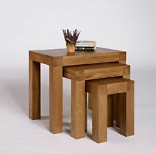 Unbranded Solid Wood Nested Tables