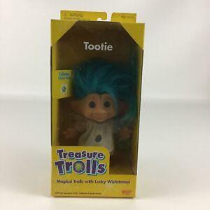 Treasure Trolls Tootie Doll Lucky Wishstone Vintage 1998 Galoob New Blue Hair