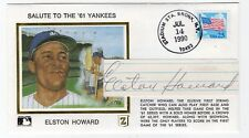 Baseball Elston Howard NY Yankees Autographed Gateway Cover w/ SGC COA