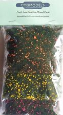 30g Bag CM3Models Fruit Tree Scatter Pack Scenery Choice of Colours