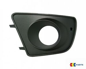 NEW GENUINE SEAT IBIZA CUPRA 02-10 FRONT BUMPER LEFT N/S FOG LIGHT GRILL BLACK