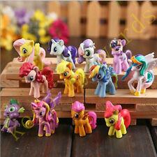 12PCS My Little Pony PVC Figur Cake Topper Dekoration Spielzeug Puppe Mädchen