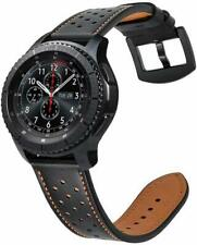 Fintie for Samsung Galaxy Watch 46mm / Gear S3 Genuine Leather Band Wrist Strap