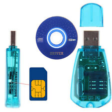 Mobile Phone USB Sim Card Reader Writer Copy Cloner Back Up Kit GSM CDMA SMS