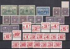 I3558/ Canada – Back Of The Book – 1933 / 1978 Mint Lot – Cv 190 $