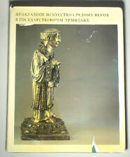 BOOK Medieval Applied Art Hermitage Russia Limoges enamel French metal sculpture