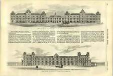 1858 Proposed Public Officers Architects Roehead D'hazeville