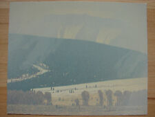 RARE Original signed Russell Chatham - Snow Flurries 1998