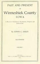 WINNESHIEK County Iowa IA, History and Genealogy Ancestry Family Tree DVD B38