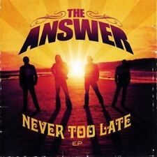Answer, the-Never Too Late CD/DVD Nuovo OVP