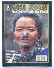 "Presse - Magazine - Revue ANIMAN - ""Nature et Civilisations"" - n° 33 - 1992"