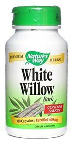 White Willow, Bark, 100 Caps - Nature's Way