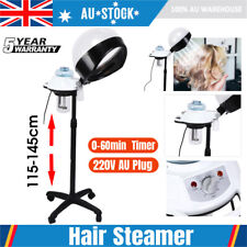 Salon Spa Hair Steamer Rolling Stand Hooded Hairdressing Care Beauty Coloring AU
