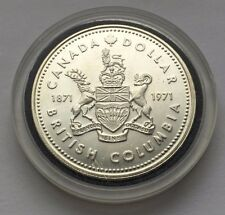 1971 CANADA COMMEMORATIVE SILVER ONE DOLLAR COIN FREE SHIPPING