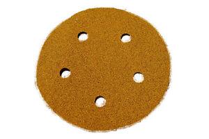 "Norton Sanding Discs 125mm (5"") 5 Hole Self Stick 100 Discs"
