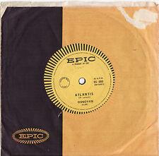 DONOVAN - ATLANTIS / I LOVE MY SHIRT  Very rare 1968 OZ PSYCH Single Release! EX