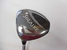 NEW LH CALLAWAY SOLAIRE 7 FAIRWAY WOOD CALLAWAY LADIES FLEX SHAFT LH W/HC